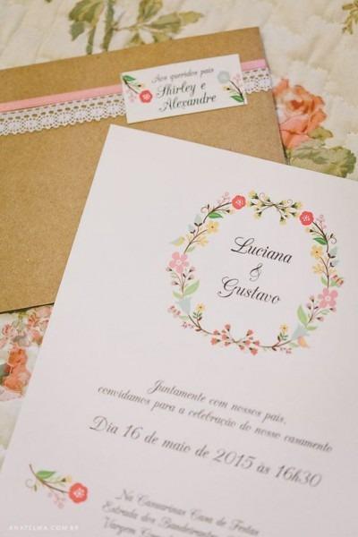 O Que Escrever No Convite De Casamento Clássico Ou Informal