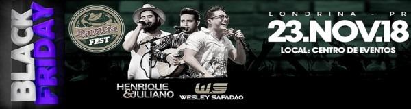 Henrique E Juliano + Wesley Safadão Em Londrina   Pr