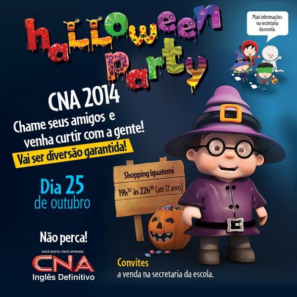 Halloween Party No Shopping Iguatemi Com O Cna Alto Da Boa Vista E