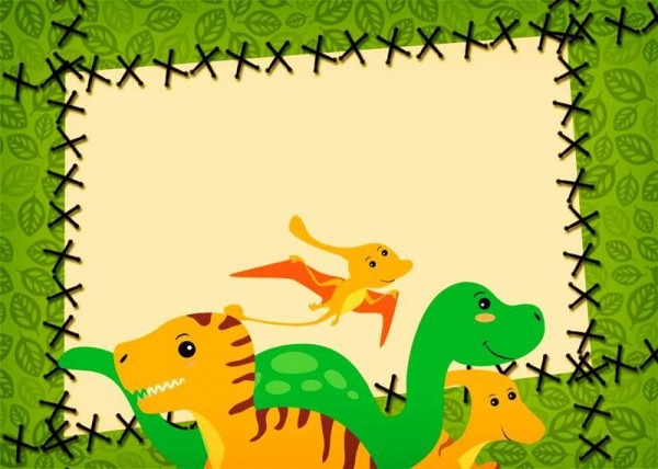 30 Convites Para Festa Dos Dinossauros Continue Vendo