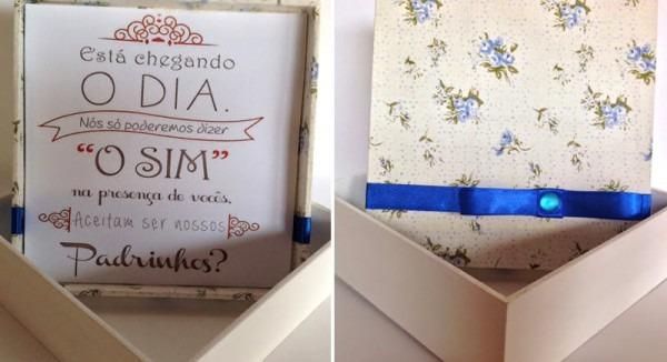 15 Ideias De Convites Criativos Para Padrinhos De Casamento