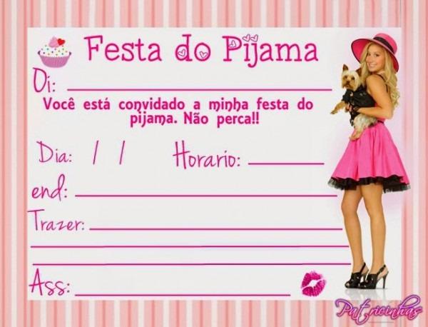 Patricinhas Sempre Fashion  ♥ Como Fazer Uma Festa Do Pijama