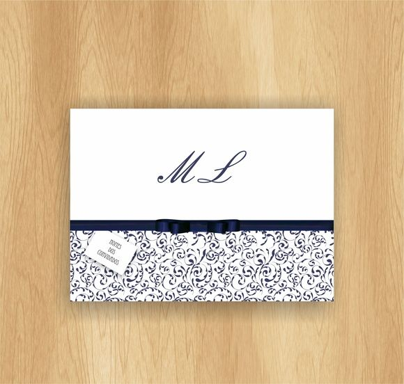 Convite Dobrado De Casamento Em Papel Texturizado 180grs E Sem
