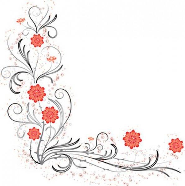 Como Criar Convites De Casamentos Com Flores Nas Bordas