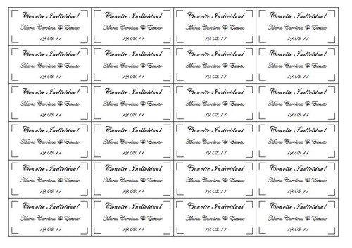 Convites Individuais Para Imprimir    Avaré