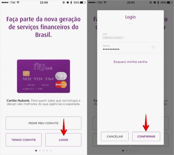 Nubank  Como Fazer Login No Aplicativo Do Cartão