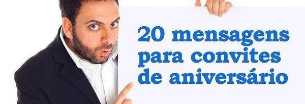 20 Mensagens Para Convites De Aniversário De Adultos