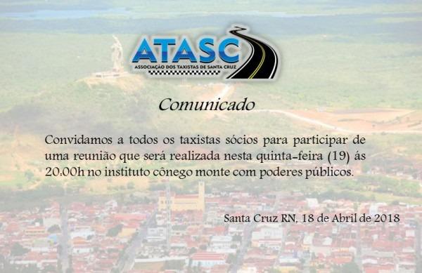 Blog Do Andrier Souza  Convite  A Atac Convoca Todos Os Taxistas