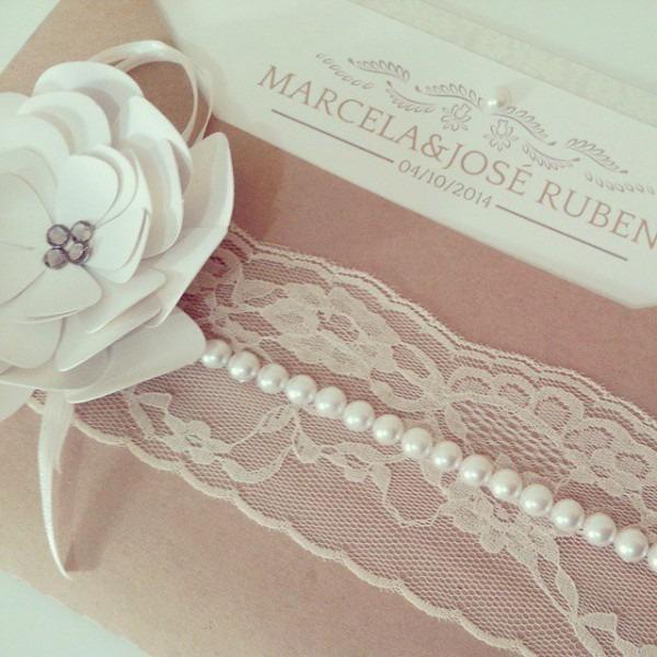 Convite De Casamento Rosa 3d Pronto Para Corte