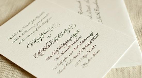 34 Fontes Para Convites De Casamento