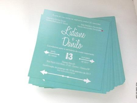 A43  Convite Azul Tiffany Lidiane