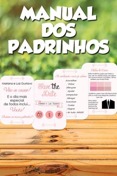 Manual Dos Padrinhos Rose □ Clique No Pin E Visite O Site Para