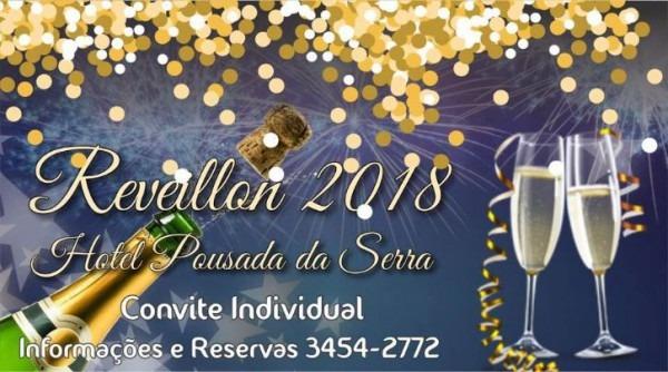 Pousada Da Serra' Se Prepara Para Celebrar O Réveillon 2018