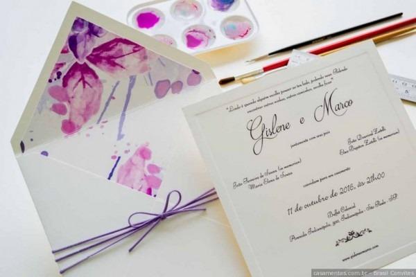 As Melhores Letras Para Convite De Casamento