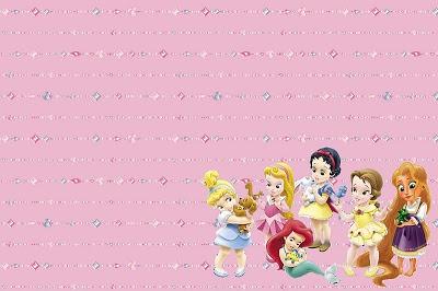 Princesas Disney Baby (todas Juntas)