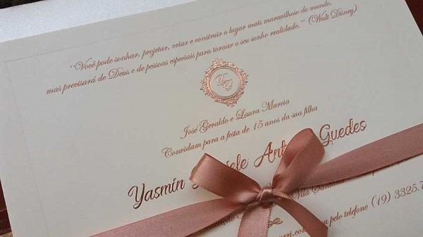 Hot Stamping Em Convites De Casamento