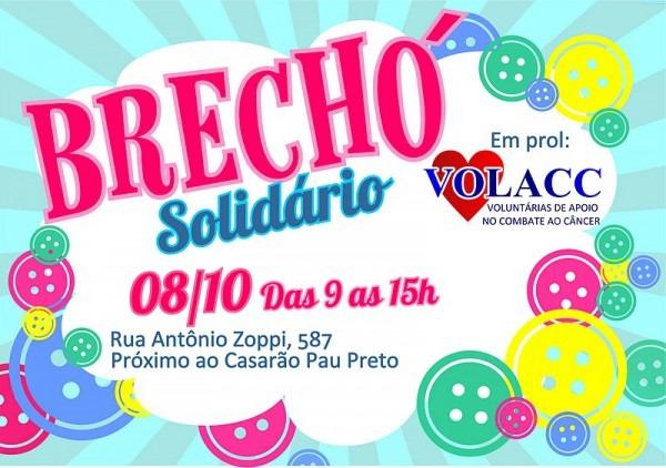 Kleber Patricio Online  Brechó Solidário Da Volacc