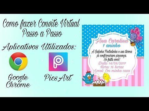 Fazer Convite De AniversÁrio Pelo Celular