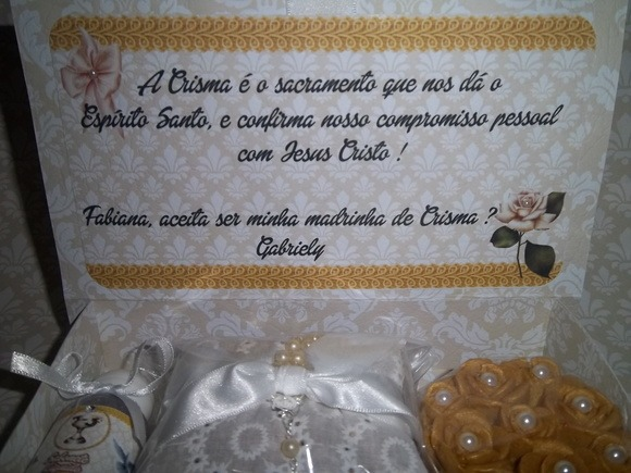 Madrinha De Crisma