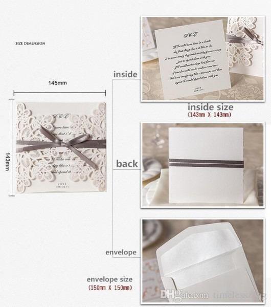 Compre Cartão De Convite De Casamento Cartão De Casamento Convite