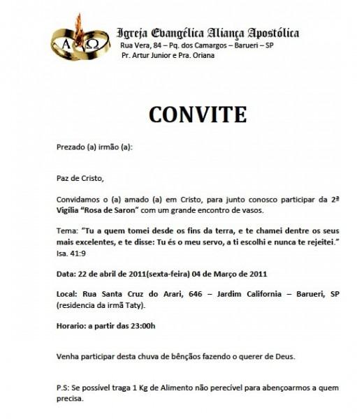 Mensagens Pr  Artur Junior  Convite