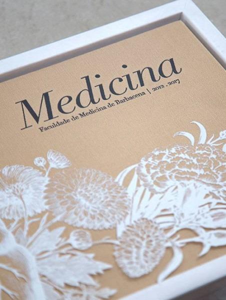 Casa2 Design I Convites E Santinhos De Formatura Medicina