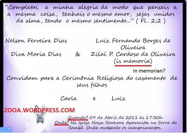 Frases Convite Casamento Catolico  Frases Para Convites Janeiro