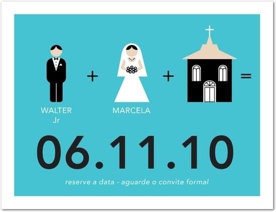 Pré Convite De Casamento