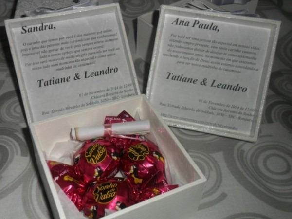 Convite Padrinhos & Madrinhas