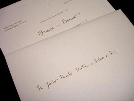 Convite Com Nomes Dos Convidados Atras Ou Coloco Cartão