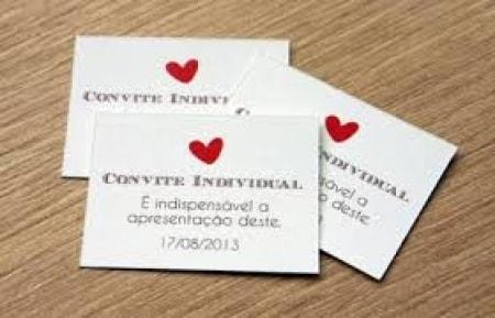 Convite Individual