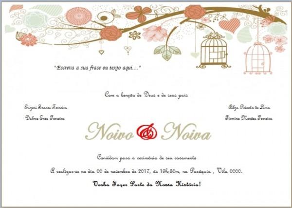 Maaaais Um Convite Editável Para Vocês!