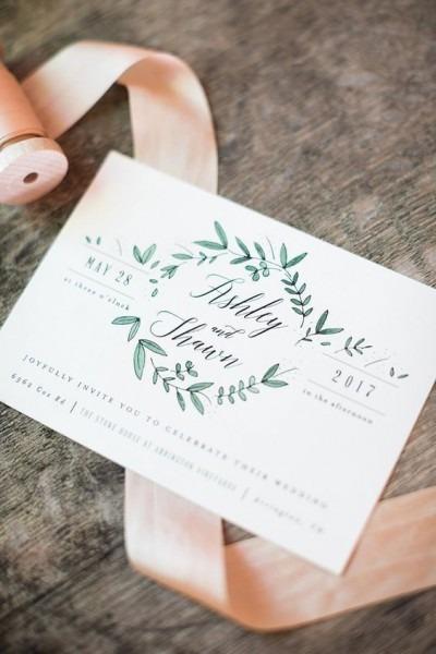 Convites De Casamento Com Ou Sem Envelope