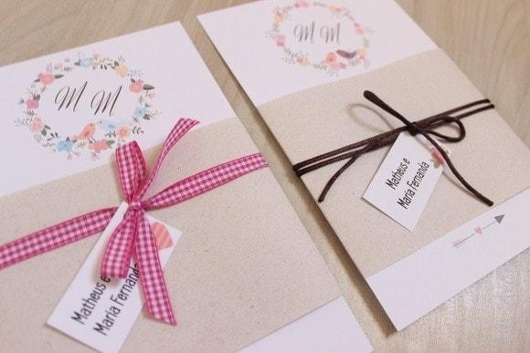 Ideias De Convite Sem Envelope