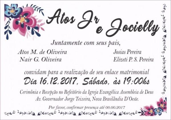 Arte Dos Convites