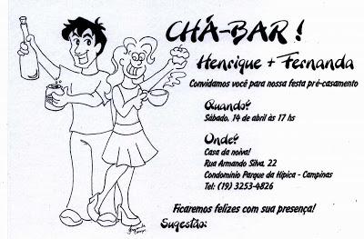 Desenhos Da Fernanda  Convite De Chá