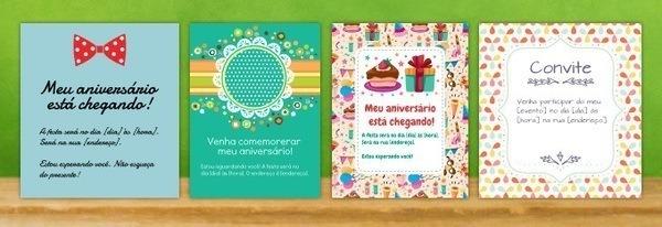 Como Fazer Um Convite De Festa De Aniversário