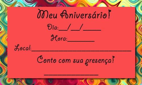 Como Montar Convite De Aniversario 6 » Happy Birthday World