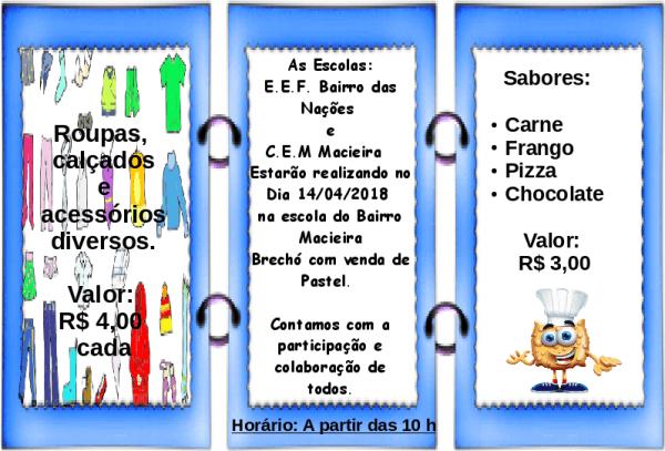 Centro Educacional Municipal Macieira  Convite