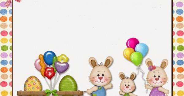 Estante Da Atividade Infantil  Convites De Páscoa Para Imprimir