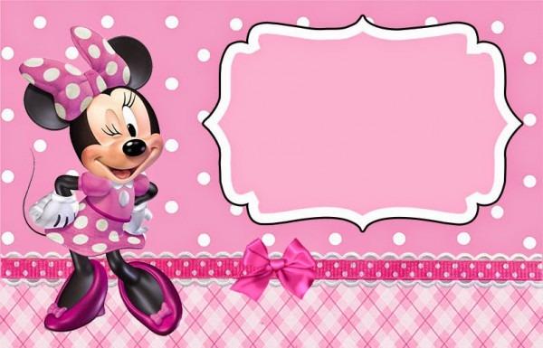 Convites Da Minnie Para Imprimir