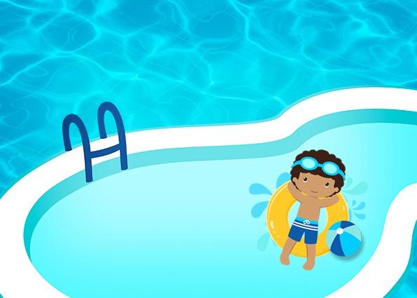 Pool Party Menino Moreno