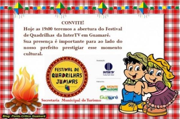 A Prefeitura De Guamaré Tem A Honra De Convidar Todos Para