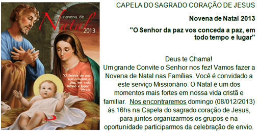 O Mural De Riacho Da Cruz Convite Para Comemorar Festa Do