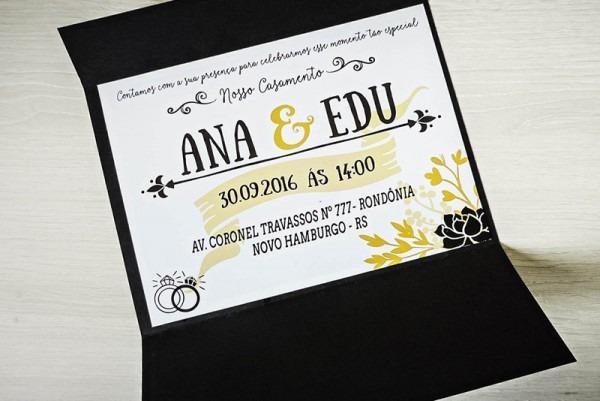Convite Casamento Divertido