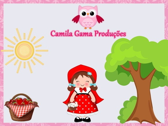 Convite Animado Chapeuzinho Vermelho No Elo7