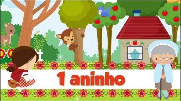 Convite Animado Chapeuzinho Vermelho