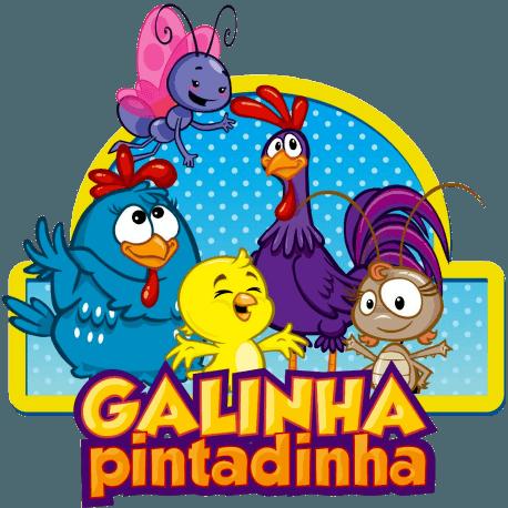 Convite Animado Galinha Pintadinha