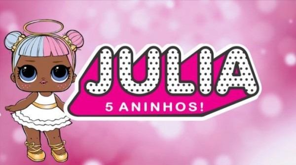 Convite Animado Lol Suprise Boneca Virtual Vídeo Com Foto
