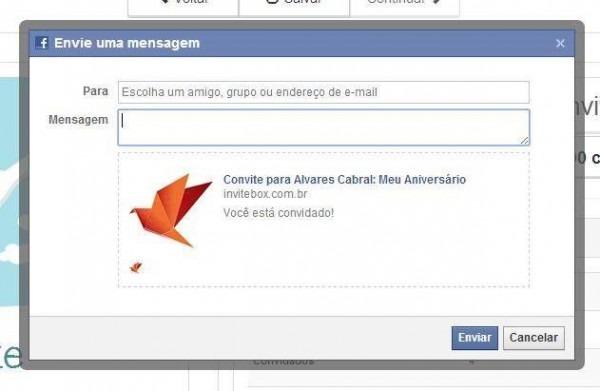 Convite De Aniversário Facebook – Modelos De Convite